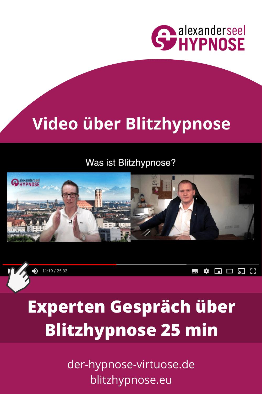 Blitzhypnose Experten Gespräch mit Christo Showhypnose und Alexander Seel PIN