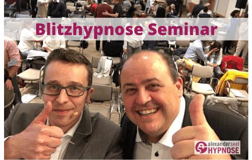Blitzhypnose Lernen Schnellhypnose lernen - Blitzhypnose Seminar mit Alexander Seel