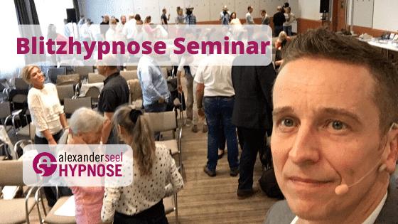 Blitzhypnose Seminar Zürich Schweiz Winterthur Bern, Alexander Seel