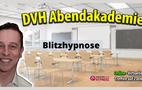 Blitzhypnose Online Seminar kostenlos mit Hypnotiseur Alexander Seel