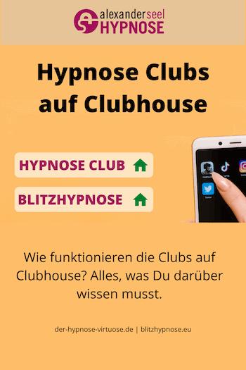 Hypnose Club auf Clubhouse, eine Anleitung