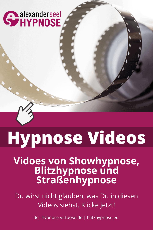 Hypnose Videos Showhypnose Blitzhypnose Strassenhypnose Alexander Seel