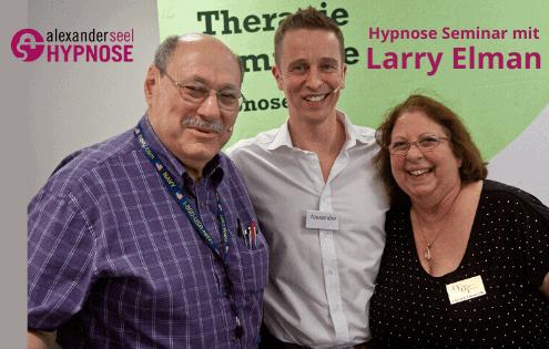 Hypnose Workshop mit Larry Elman Sohn von Dave Elman - Alexander Seel