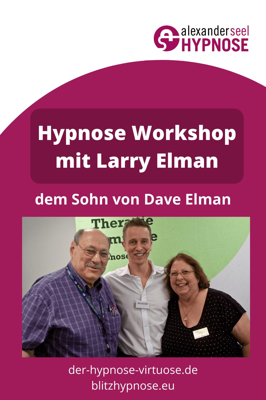 Larry Elman Hypnose Workshop Muenchen Pinterest Pin