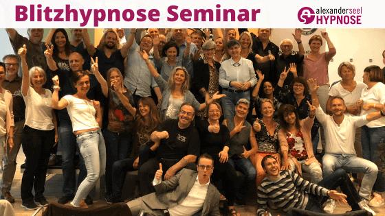 Seminar Feedback Blitzhypnose Seminar Teilnehmerstimmen