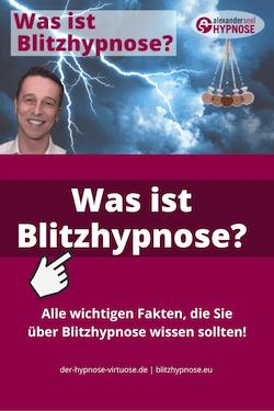 Was ist Blitzhypnose? Pinterest Pin