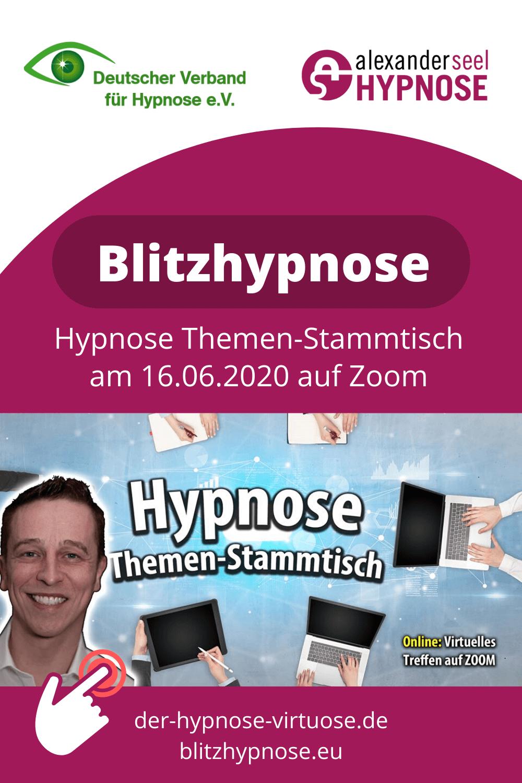 blitzhypnose-stammtisch hypnose-stammtisch dvh themenstammtisch mit alexander seel pinterest